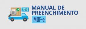 manual de preenchimento m d f e .